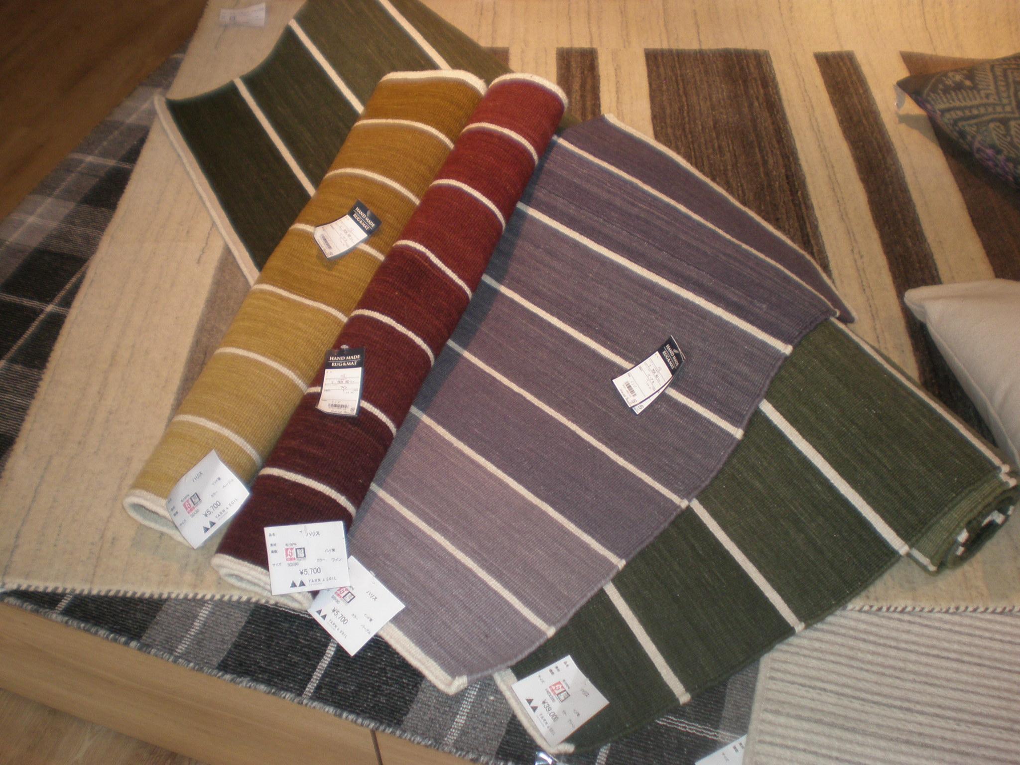 インドの手織の平織り