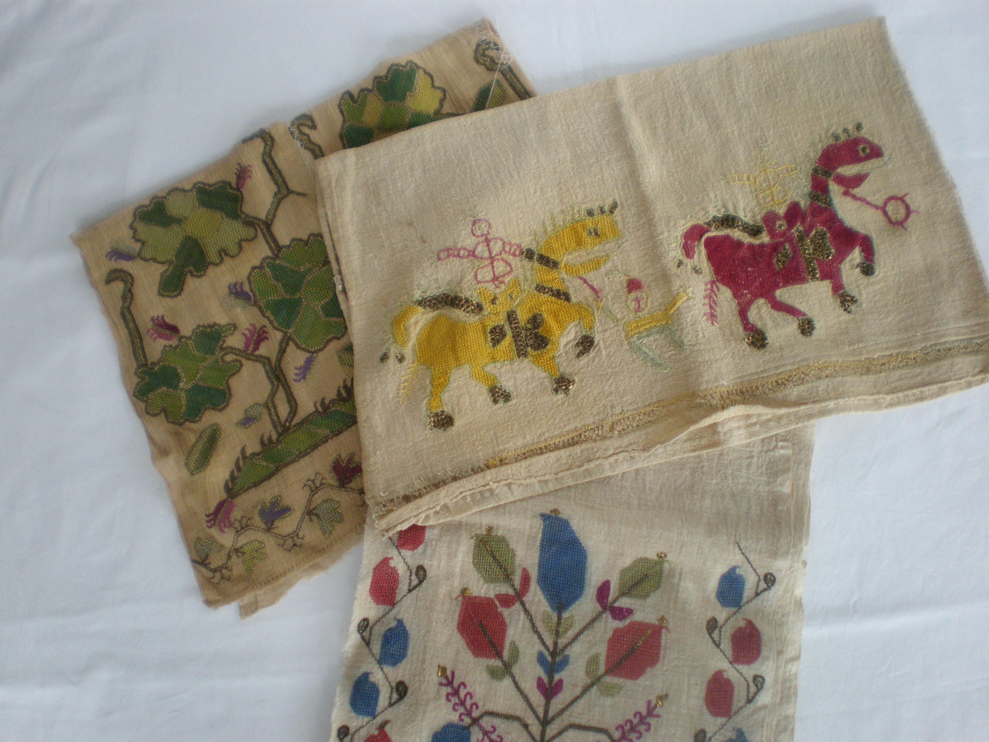 トルコ刺繍布