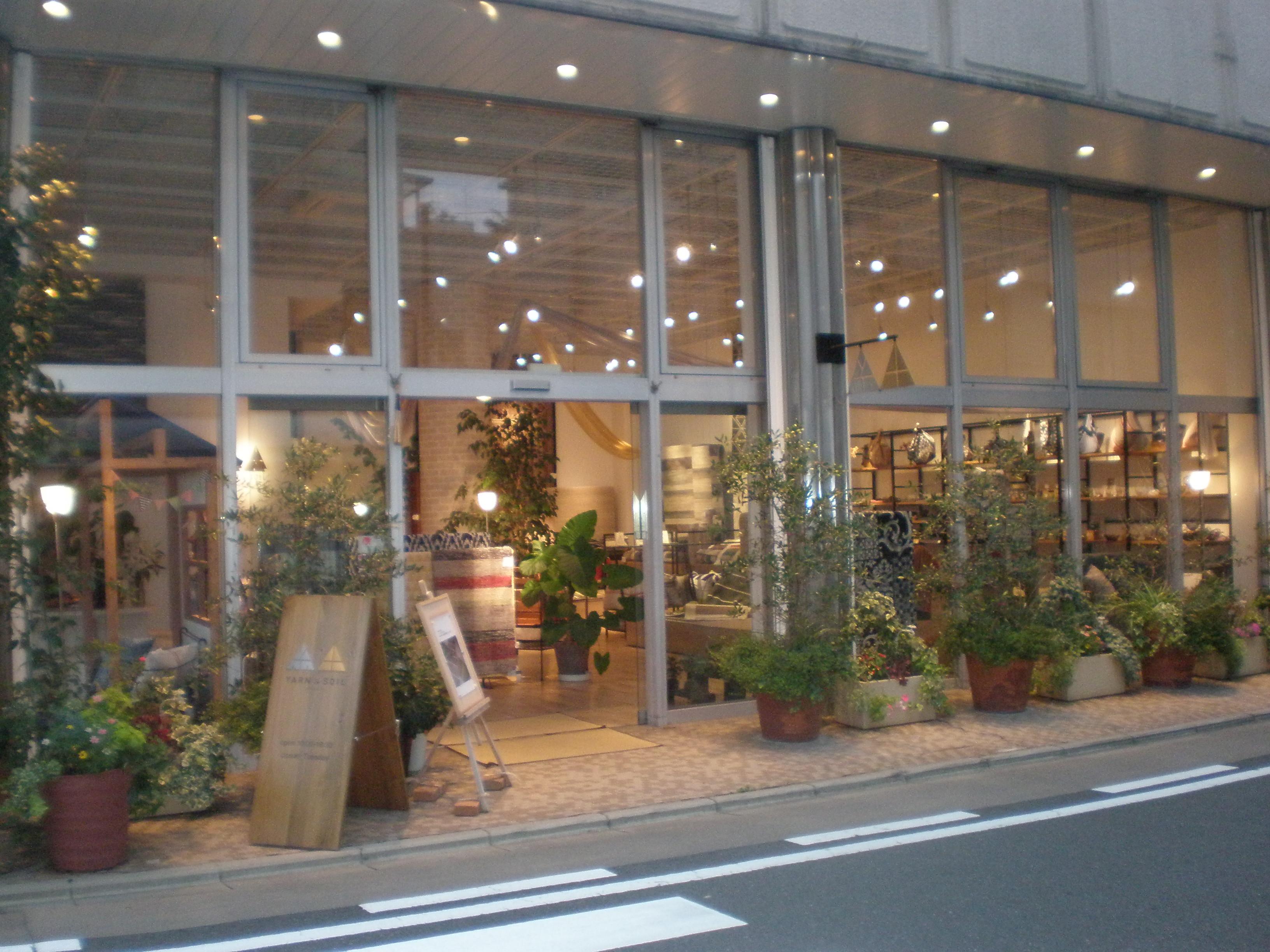 YARN & SOIL 店舗外観