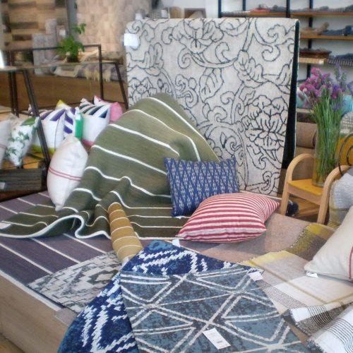 YARN&SOIL 店内ラグ・カーペット・絨毯コーナー